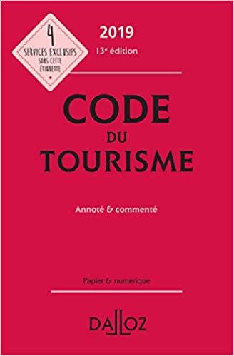 Code du Tourisme (13e édition)