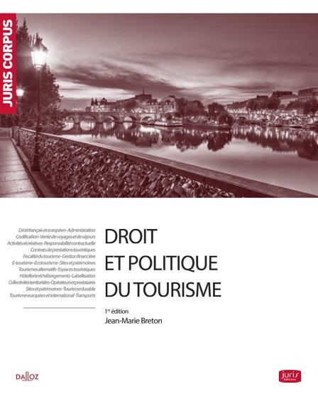 Ouvrage Droit Et Politique Du Tourisme
