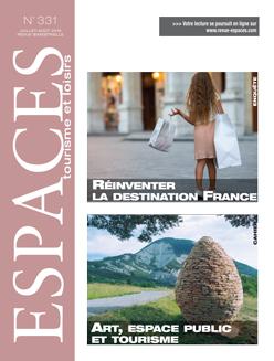 Revue ESPACES tourisme et loisirs 331 [Réinventer la destination France // Art, espace public et tourisme]
