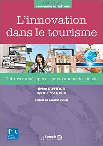 L'innovation dans le tourisme